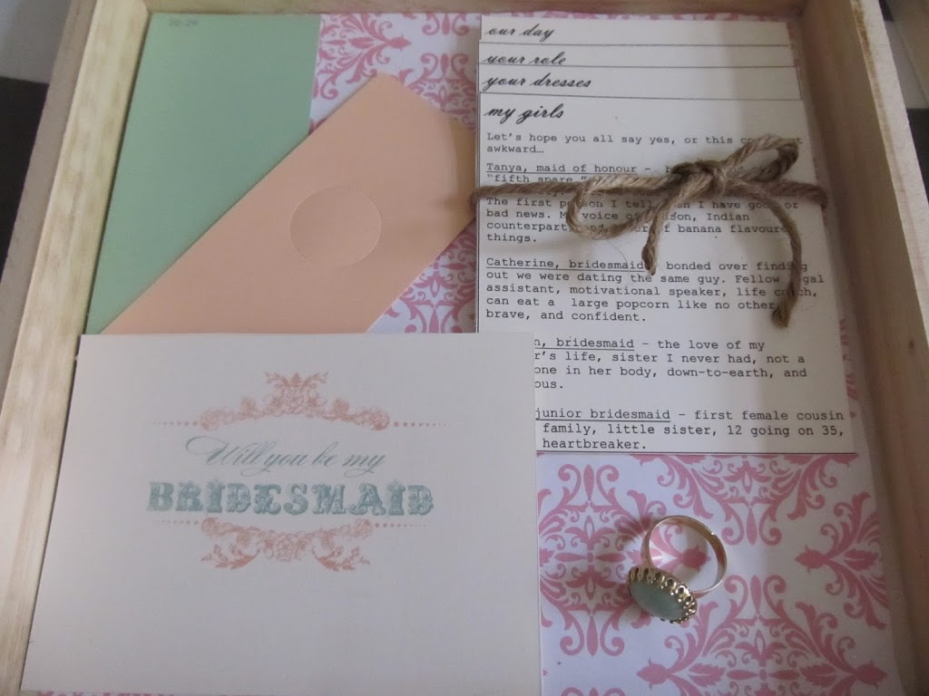 Diy Bridesmaid Boxes Tracey Zimmer