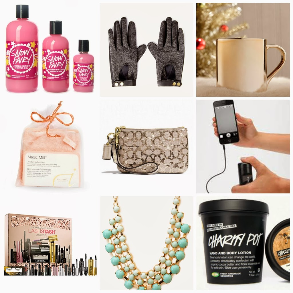 Affordable holiday gift guide for her just a trace Best christmas presents for her
