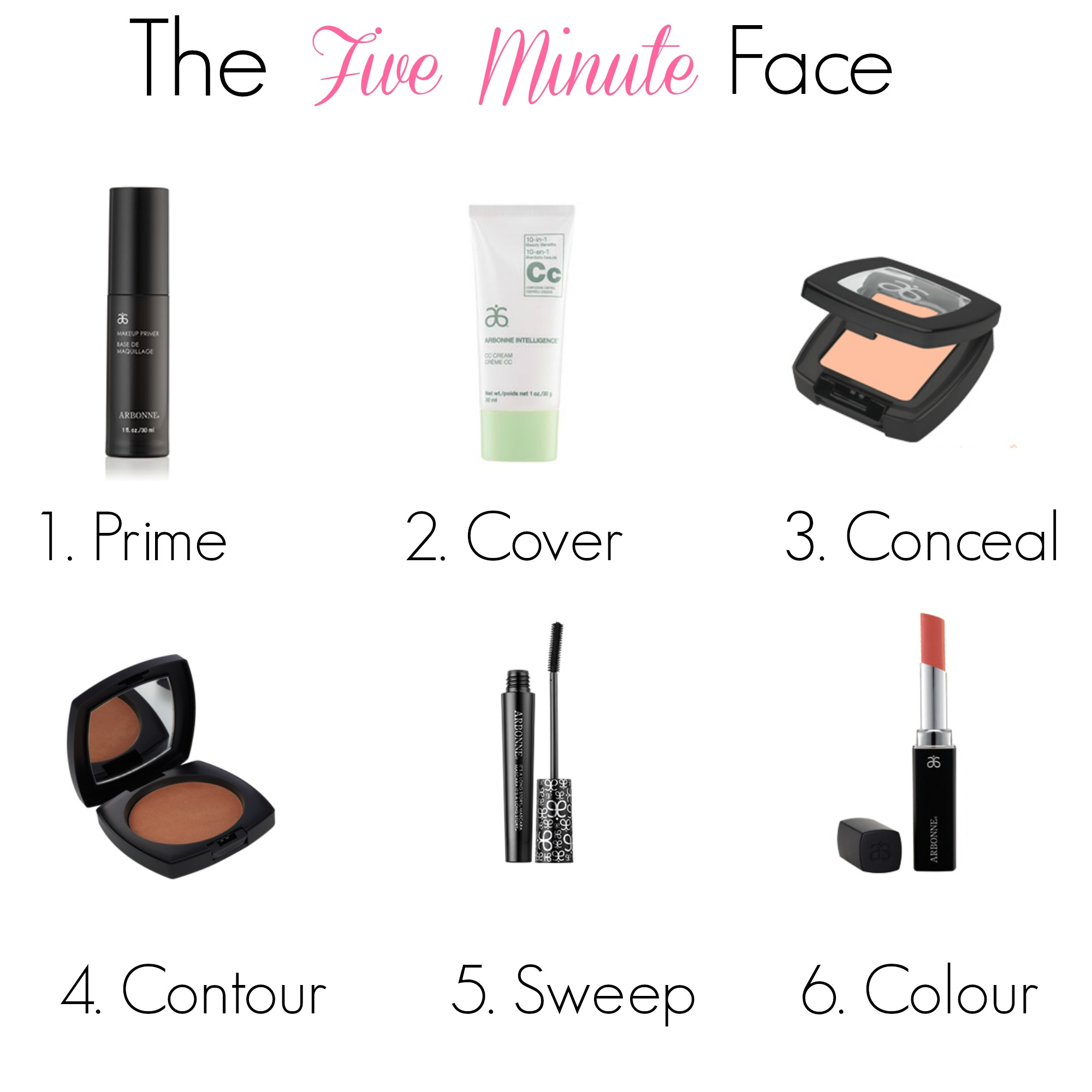 Arbonne Five Minute Face