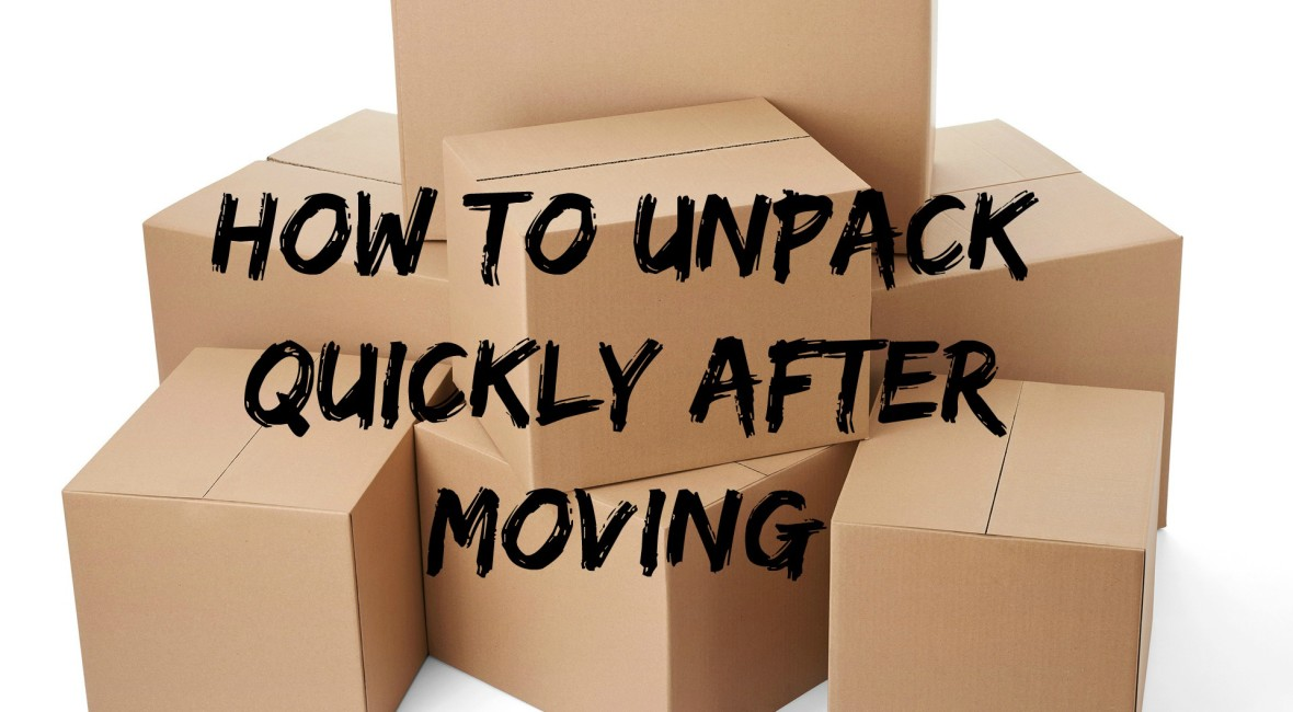 unpacking tips